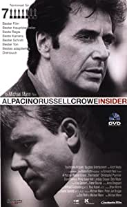 Insider [VHS]: Al Pacino, Russell Crowe, Christopher
