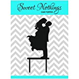 #10: Acrylic Cake Topper or Silhouette - Happy Couple - Design 3