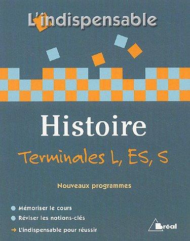 Histoire Tles L, ES et S