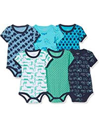Pack of 6 Care Baby Boys Shaping Bodysuit Exclusive