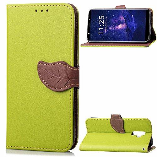 Funda® 3D Relief Muster Flip Brieftasche Hülle für Leagoo M9 (Muster 1)