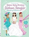 Sticker Dolly Dressing Fashion Designer Wedding Collection