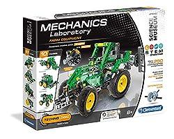 Clementoni - 61327 Mechanics Laboratory Farm Equipment Toy