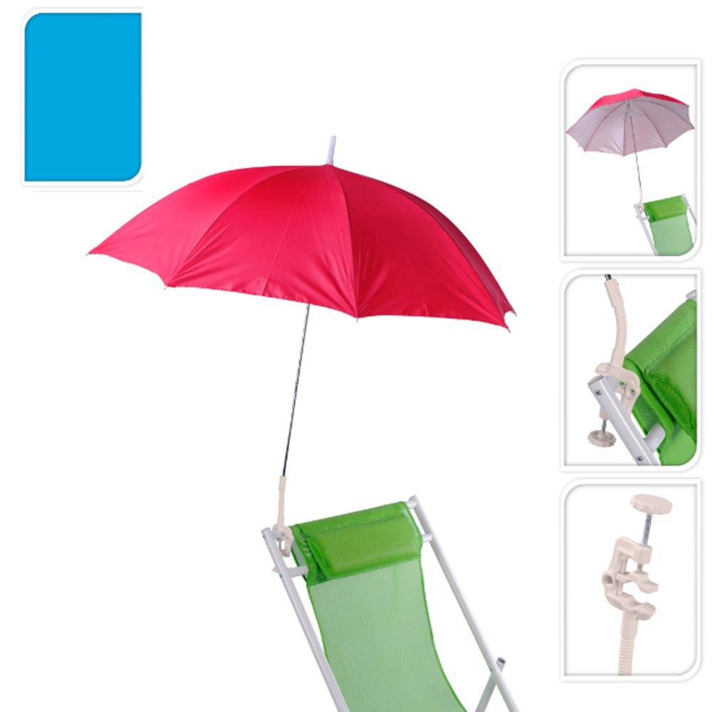 Clip On Chair Parasol Umbrella By Pro Beach - UV Sun Rays ...