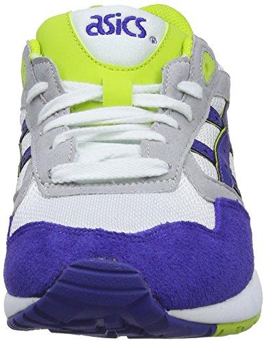 ASICS Gelsaga, Unisex-Erwachsene Laufschuhe Training Weiß (White/Dark Blue 152)