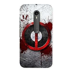 Premium Bleed Dead Multicolor Back Case Cover for Moto G3