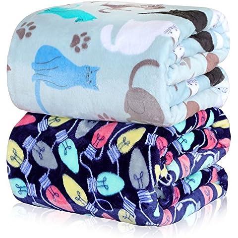 BDUK El Otoño Invierno mantas de vellón de brida doble Literas Faller Lint-Free invierno manta de algodón y camas de Arrecifes de Coral para solos.
