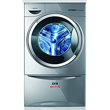 IFB Senator Smart Touch Fully-automatic Front-loading Washing Machine (8 Kg, Silver)