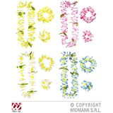 HONOLULU HAWAIIAN SET (LEI CROWN CUFF) (BLU/PINK/WHITE/YELL) ACCESSORIES