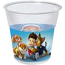 Patrulla Canina - Pack 8 vasos de plástico (Gabbiano 7085)