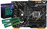SNOGARD Aufrüst Kit | Intel Core i5-9600K Prozessor, ASUS TUF B360-PRO Gaming 16GB DDR4 RAM/Desktop Computer Mainboard Bundle/PC Aufrüstkit/Aufrüstset / PC Tuning Kit