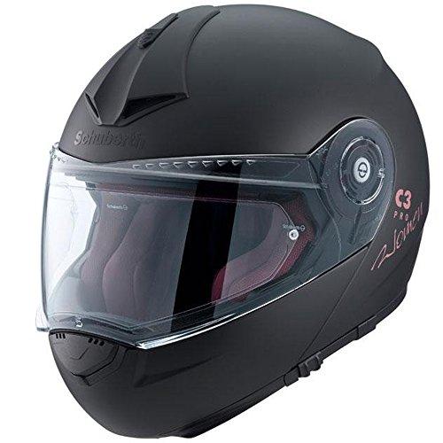 Preisvergleich Produktbild Motorradhelm Schuberth C3 Pro Frauen Matt Black