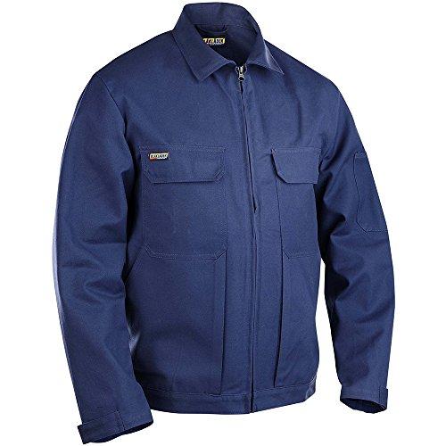 Blakläder 472018009900L Veste Taille L Noir Marine-Bleu
