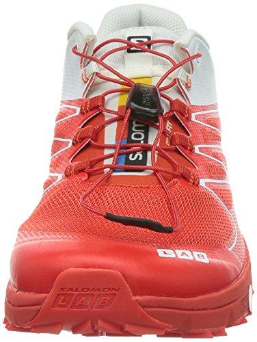 SALOMON S-Lab Sense 2 Scarpa da Trail Running Unisex Rosso/Bianco