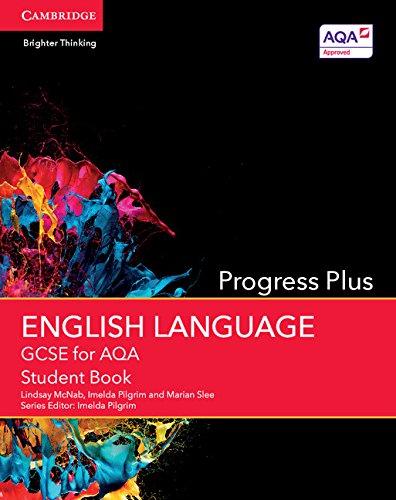 GCSE English Language for AQA Progress Plus Student Book (GCSE English Language AQA)