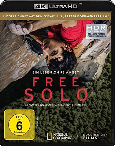 Free Solo (4K UHD) [Blu-ray]