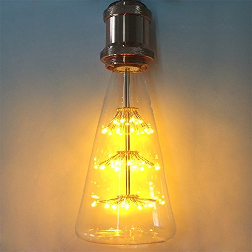 Lampadina Edison, xinrong Vecchio Stile Vintage Decorativo Lampadina 220V Cielo