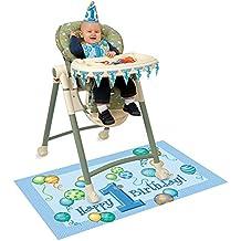 El primer cumpleaños decoración de alta Boy silla - Cumpleaños infantiles - Tarde infantil