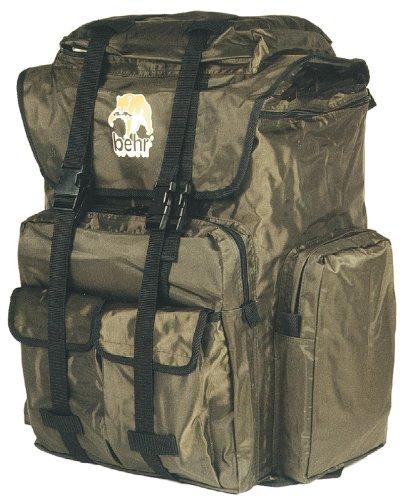 Behr Super-Packman-Rucksack(56-630 01) - Angelruten, Angelhaken, Köder, Angelschnur und Angelzubehör