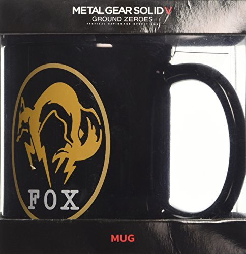 Gb Eye Metal Gear Solid Tazza, Ceramica, Multicolore, 12 x 12 x 9 cm