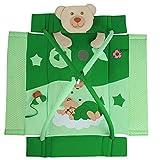 Kuschelbär Erlebnisdecke/ Nestchen mit Spielbogen - 3 in 1 mit und ohne Muisk (Sleeping Bear Grün)