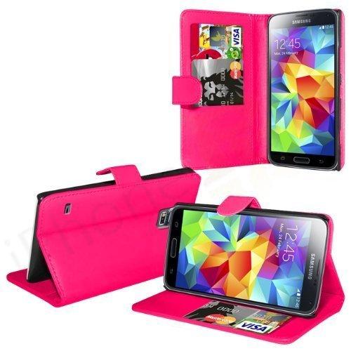 Schutzhülle In Ihre Gesicht Samsung Galaxy S5 Ständer Etui Bücherschrank Mit Kredit Karte Steckplätze Und Kostenlos Display Schutz -...