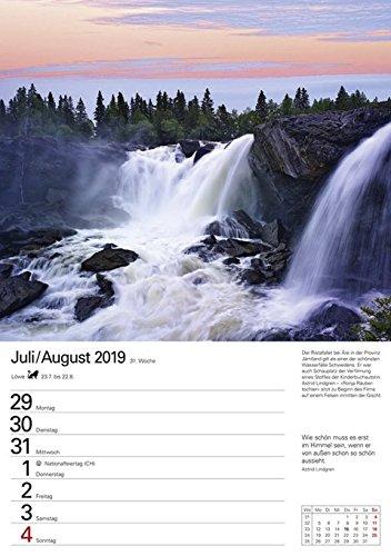 Skandinavien - Kalender 2019: Wochenplaner, 53 Blatt mit Zitaten und Wochenchronik: Alle Infos bei Amazon
