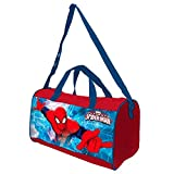 Spiderman Borsa sportiva per bambini, multicolore (multicolore) - AS032
