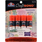 Elmer's CraftBond(R) Repositionable Glue Sticks 4/Pkg-.21oz