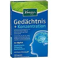 Kneipp Gedächtnis+Konzentration Kapseln, 30 St preisvergleich bei billige-tabletten.eu