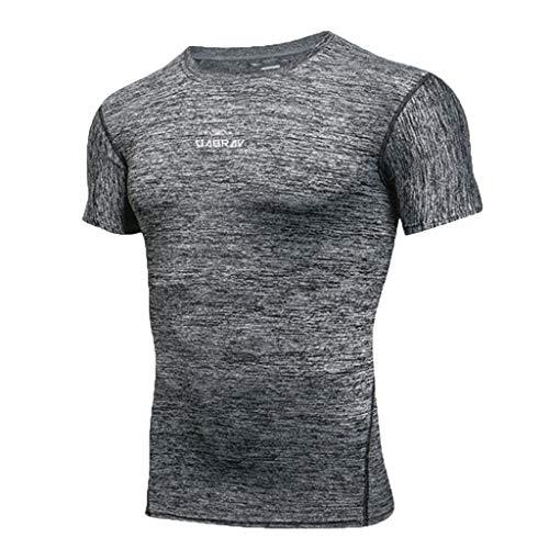 Ropa Hombre Verano Floral Cara Sonriente Camisetas De Entrenamiento Atleta  Fit Gym Crossfit T-Shirt 03a56d3bf3