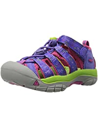 Keen Unisex Kids' Newport H2 Hiking Sandals, Green, One Size