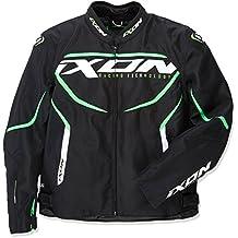 Ixon – Chaqueta de moto para Sprinter, negro/verde, ...