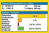 JBL Grana 40512 Premium Alleinfutter für kleine Aquarienfische, Granulat 250 ml