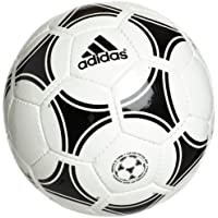 adidas Tango Rosario - Balón de fútbol, color blanco/negro, tamaño 5