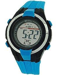 Montre Digitale LCD Ravel pour Enfant Bleue & Noire avec Alarme & Chronomètre