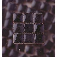 MosaicMicros 5x 5x 3mm 10g (Azulejos de Mosaico de cerámica esmaltado Mini, Color Azul