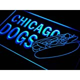 Enseigne Lumineuse s231-b Chicago Dogs Hot Neon Light Sign