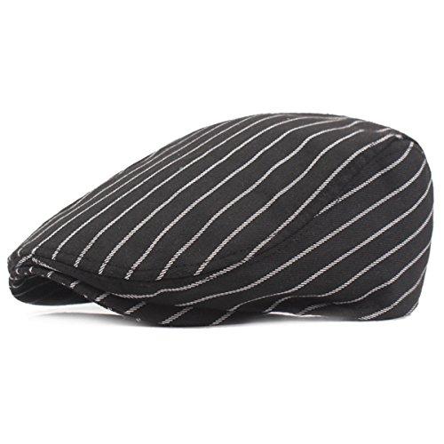 Herren Flatcap Schiebermütze - iParaAiluRy Gatsby Mütze Schirmmütze für Männer - Stylischer Berets Hat, Cabbie Cap