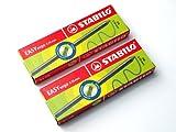 Stabilo Easy Ergo Bleistift-Minen, 3,15 mm, HB, Doppelpack = 12 Minen.