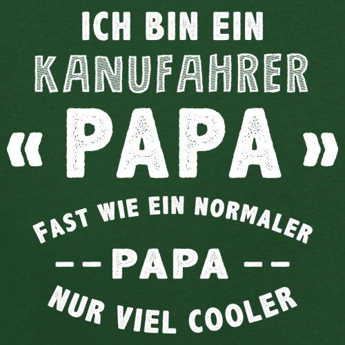 Ich bin ein Kanufahrer Papa - Herren T-Shirt - 13 Farben Flaschengrün
