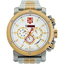 TechnoSport Herren Chrono Uhr - Silber/ Gold