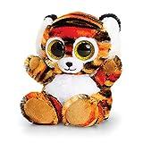 Keel Toys - Peluche Animotsu de tigre (15cm/Marrón/Blanco)