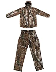Gazechimp Chaqueta con Pantalones de Color Camuflaje para Escalda Regalo para Deportista - XL