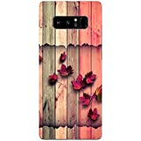 Samsung Note 8 Cases And Covers Color Wood Floral Being Floral Designer Printed Hard Shell Case