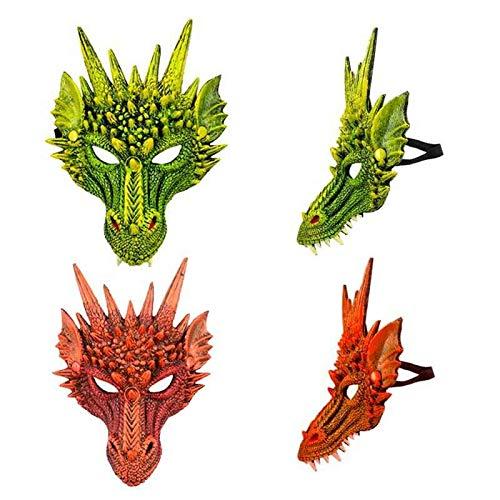 Careta Dragón Goma