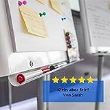 WINTEX 24 farbige Magnete / Whiteboard-Magnete / Tafelmagnete in 4 Farben mit 2 Jahren Zufriedenheitsgarantie – Magnetische Map Pins / Magnetfiguren / Magnetische Schach Bauern Figuren - 7