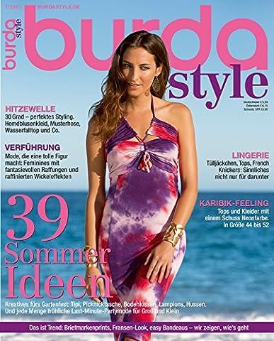 Burda style 2013 #07 Juli-Ausgabe