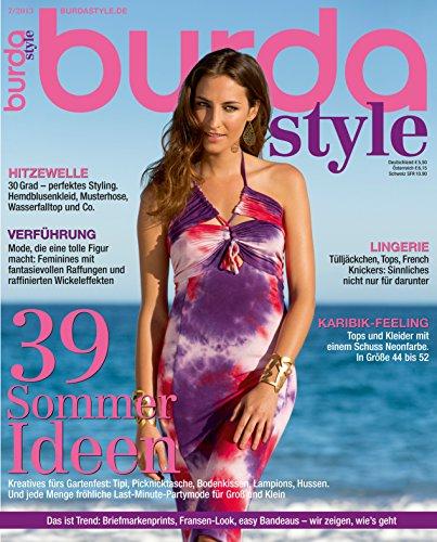 Burda style 2013 #07 Juli-Ausgabe (Vintage-mode-magazin)