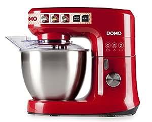 Domo DO 9109 KR Robot Pâtissier Rouge